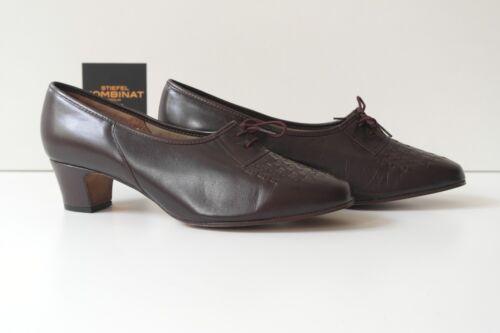 Scarpe Grando Vere vintage mocassini anni Rheinberger donna '60 Madame stringate Scarpe awwqxvT5