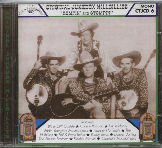 Various Artists - Original Jukebox Hillbillies ''Rompin And Stompin'' (CD Album)