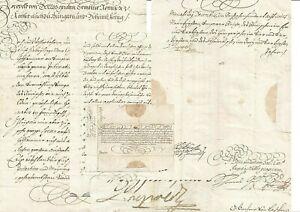 1698 KAISER LEOPLD I. BRIEF AN GRAF LIECHTENSTEIN mit eigenh. Unterschrift.