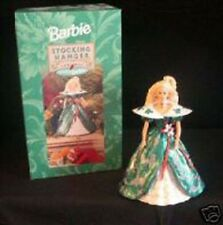 Hallmark Holiday Barbie Stocking Hanger  @1996 NEW