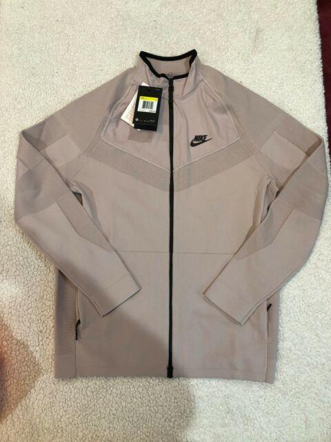a12129a7e448a1 Nike Tech Knit Jacket Pack Sportswear Particle Rose SIZE S NSW Fleece  886150-684