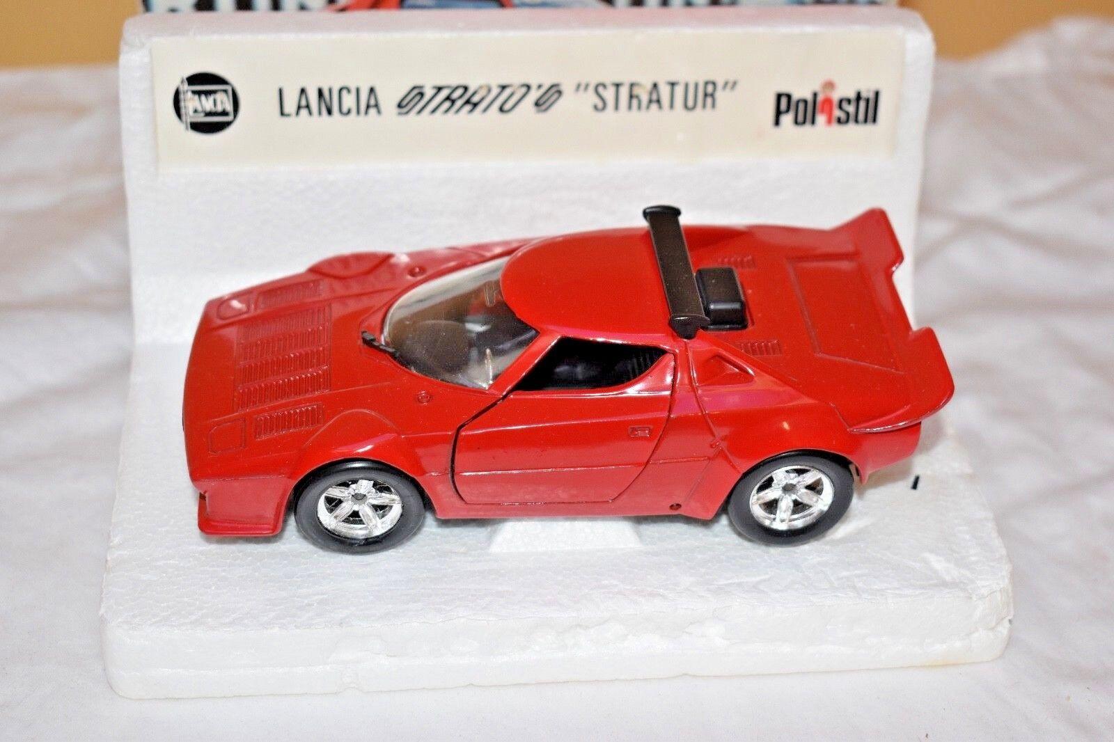 Polisti Lancia Stratur Die Cast; S32; Excellent Model Condition. Original Box