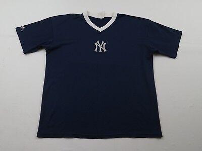 Sport EntrüCkung Vintage Herren Majestic New York Yankees Trikot Größe L Mlb Baseball