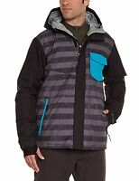 Billabong Men's Method Snowboard / Ski Jacket, Bubble Blue, Xlarge Brand