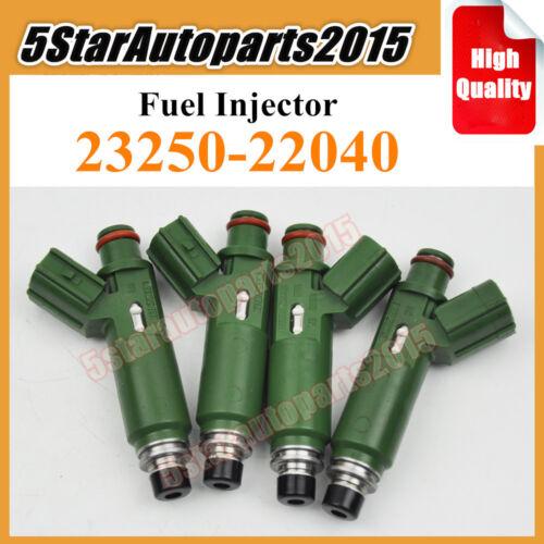 4x OEM 23250-22040 Fuel Injector for Toyota Celica Corolla Matrix MR2 Spyder 1.8