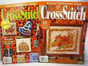 2-Just-Cross-Stitch-Magazines-Annual-Halloween-Issues-Charts-Sept-Oct-2011-12