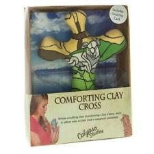 Calypso Studios by First /& Main 3 Lamb of God Comforting Clay Pocket Cross