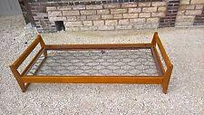 ancien lit marcel gascoin wood bed modernist design 1950 perriand jean prouvé