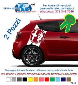 2-Adesivi-fasce-laterali-bisce-ALFA-ROMEO-stickers-tuning-car-mito-147-giulia