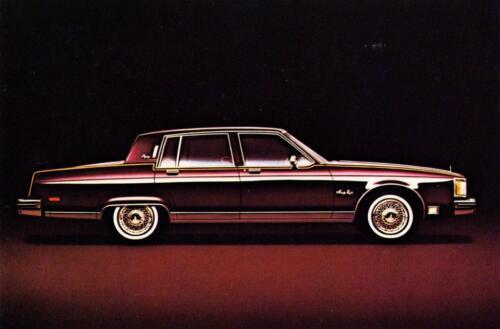 1980 Oldsmobile Ninety-Eight Regency auto ad Print