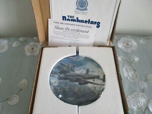 GONER-68A-THE-DAMBUSTERS-ROYAL-WORCESTER-COLLECTOR-039-S-PLATE