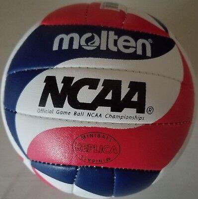 """Molten Mini Volleyball V200-N NCAA Gray//White//Blue Small size 5.5/"""" replica"""