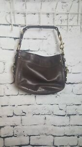 12671 Leather Coach Handtasche F0882 Braune wpqPIBI5