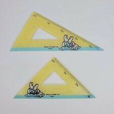 Vintage 1990 Daisy Kingdom 3 Amp 4 Triangle Drawing Stationery