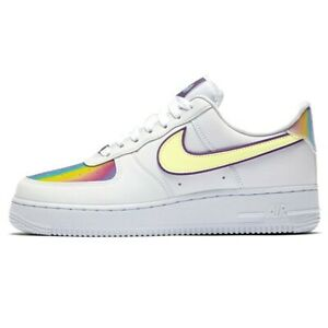 WMNS NIKE AIR Force 1 Low Easter Cw0367 100 Scarpa