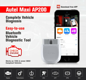 Details about 2019 Autel ELM327 BT Auto OBD2 Code Reader Car Scanner Tool  ABS SRS Android iOS