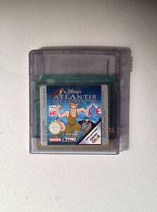Jeu Game Boy Color Disney Atlantis The Lost Empire - France - État : Comme neuf: Objet semblant avoir été retiré de son film plastique récemment. Aucune marque d'usure apparente. Toutes les faces de l'objet sont impeccables et intactes. Consulter l'annonce du vendeur pour avoir plus de détails et voir - France