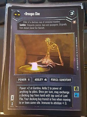Star Wars CCG Reflections III Unsalvageable NrMint-MINT SWCCG