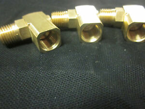 3-BRASS-AIR-SWIVEL-CONNECTORS-90-DEGREE-ANGLE-360-SPIN-1-4-034-NPT-3-8-034-HOSE