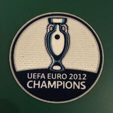 España euro 2012 ganadores Campeones Camiseta De Fútbol Soccer PATCH BADGE Fieltro 2016
