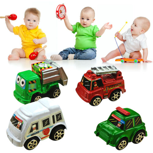 6pcs Cute Pull Back Model Aolly Car Truck Vehicle Toys for Baby Kids Children #5