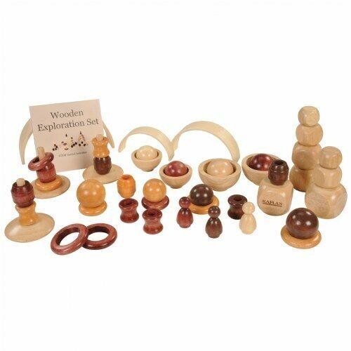 Kaplan 63290 Wooden Exploration Set 50 Pcs