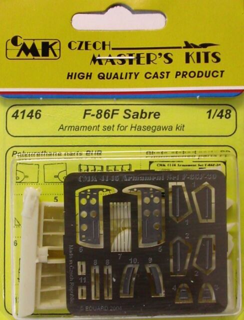 Cmk 1/48 F-86f Sabre Rüstungssatz für Hasegawa Set #4146