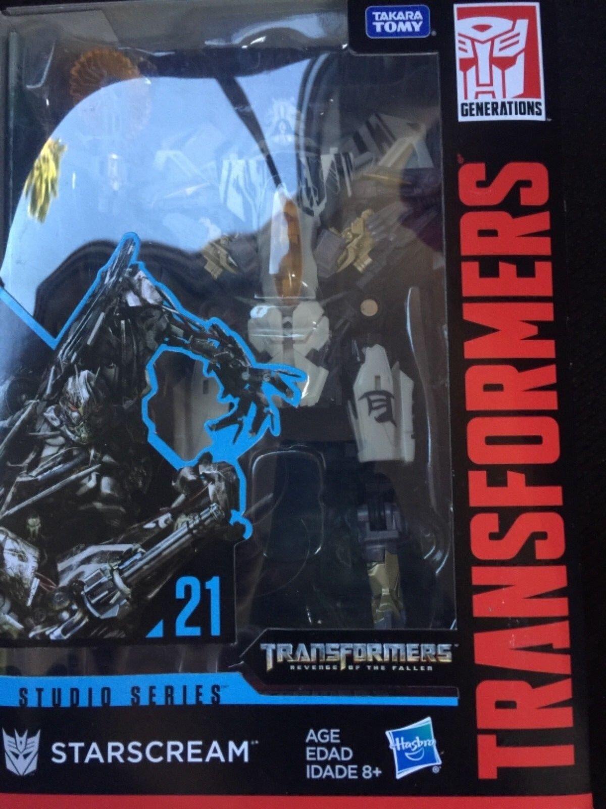 Transformers Generations Studio Series 21 Voyager Class Movie 2 Starscream