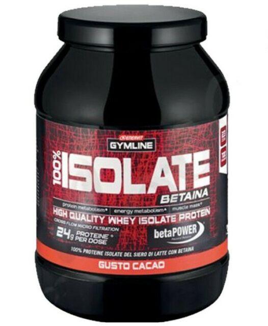 Enervit Gymline Whey Protein Isolate Betaina 700 Grammi Cacao Proteine Siero
