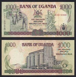 Uganda 1000 Shillings 2000 BB VF+ P39a B-04