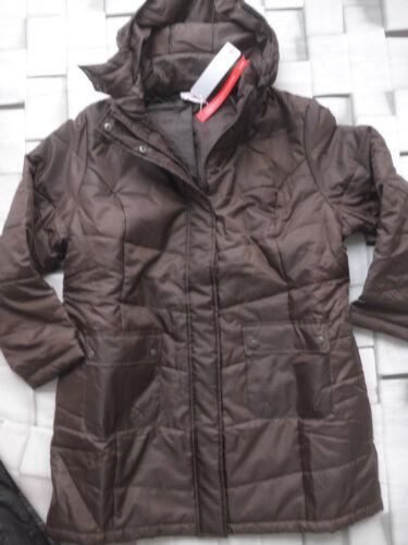 Sheego Parka Jacket Size 46 Bis 52 Braun Tone New 861