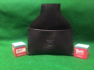 BLACK-CHALK-POUCH-SNOOKER-POOL-amp-2-BLOCKS-MASTER-CHALK-FREE-DELIVERY