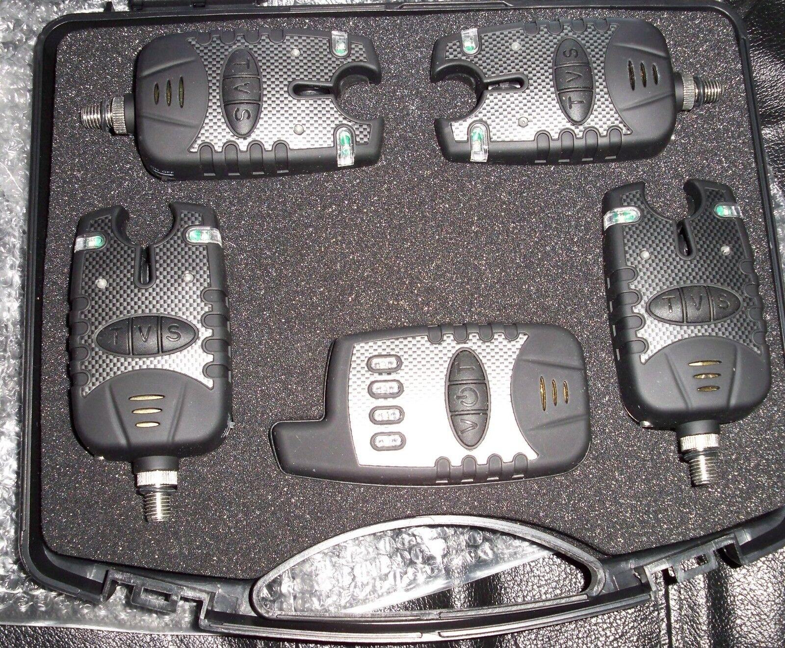 KFS Funkbissanzeiger 4+1 Ampel  Ampel 4+1 Set Carpfishing Method 294113
