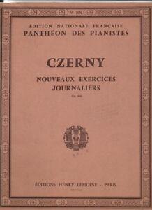 Panthéon Des Pianistes - Czerny Nouveaux Exercices Journaliers Op. 848