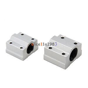 1PCS SC8UU SCS8UU 8mm Movimiento Lineal Rodamiento Maquinaria Cnc buje de diapositiva