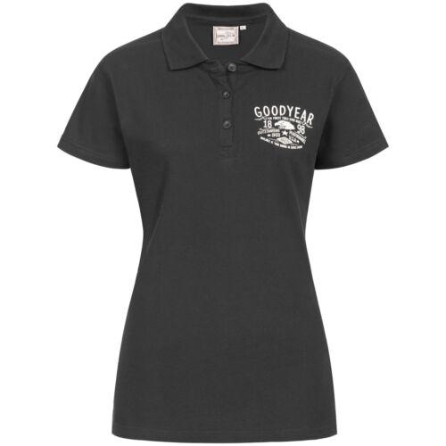 Nero Ladies Palissandro Goodyear Schwarz Poloshirt wpadtqt