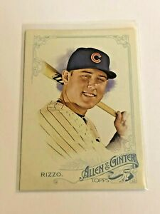 2015-Topps-Allen-amp-Ginter-Baseball-Base-Card-Anthony-Rizzo-Chicago-Cubs