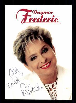 Autogramme & Autographen National Romantisch Dagmar Frederic Autogrammkarte Original Signiert ## Bc 147096