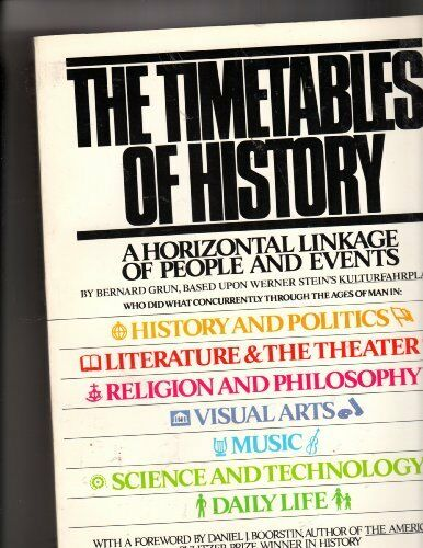 The Timetables of History: A Horizontal Linkage of