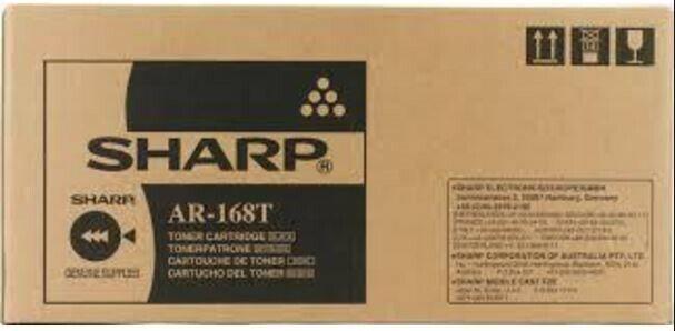 Genuine Sharp AR 168T AR-168TBlack Toner Cartridge AR 122 152 155 156 SERIES