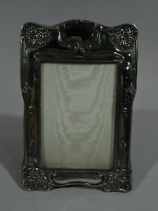 Dominick-amp-Haff-Frame-Picture-Photo-Art-Nouveau-American-Sterling-Silver
