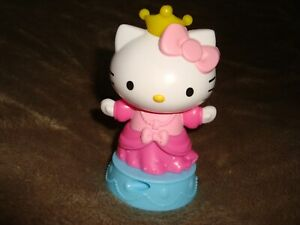 2019-Mcdonalds-Hello-Kitty-Princess-plastic-figure-spins-around-when-rolled-4-034-T