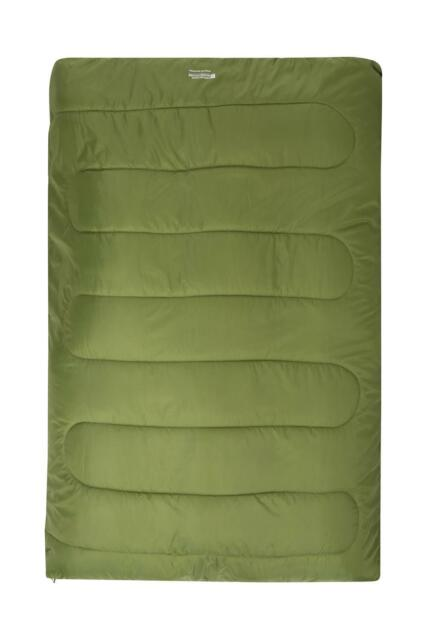 pretty nice 020f4 01637 Mountain Warehouse Basecamp 200 Double One Size Sleeping Bag - Lime