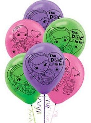 Doc McStuffins Birthday Party Balloons - 6 pc.