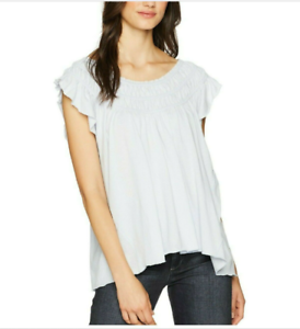 We the Free Women's Coconut Gathered Top Size M New with tags