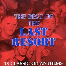 Best of the Last Resort CD OI PUNK WARRIORS 4 SKINS BUSINESS BLITZ GBH SHAM 69