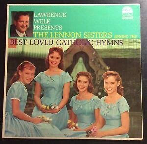 Lawrence-Welk-Lennon-Sisters-Best-Loved-Catholic-Hymns-Dot-DLP-3250