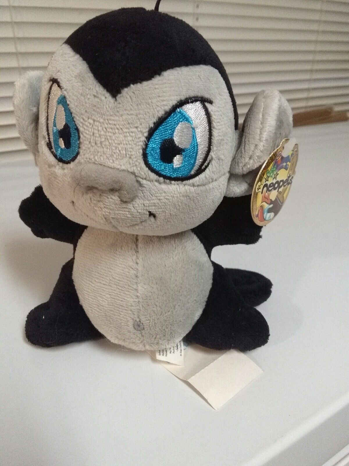 Neopets Shadow Mynci Plushy  7 . New with tag. Limited Too. 2006. (R)