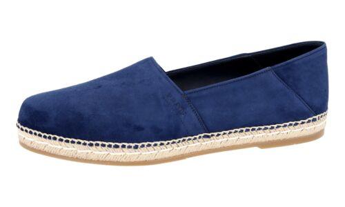 Bleu 41 Nouveau 2de092 Nouveau Chaussures Slipper de 5 41 luxe 7 Prada Y6ybfg7