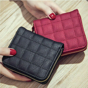 Women-Mini-Wallet-Zipper-Card-Holder-Coin-Purse-Small-Leather-Clutch-Bag-Handbag